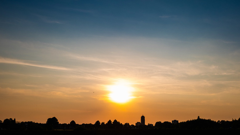 Skyline van Enschede -