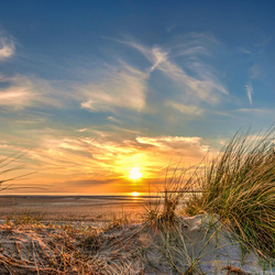 zonsondergang Oostvoorne