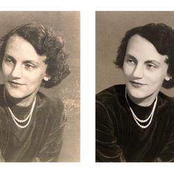 Reparatie van oude foto's