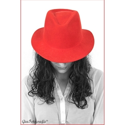 Lady with the Red hat.*