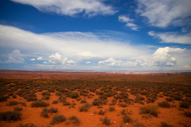 Arizona  - Onderweg van Joshua Tree naar Sedona.Wat prachtige vergezichten, eindeloos en mooi.