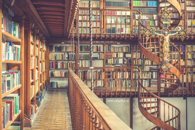 Sneakpreview van een prachtige bibliotheek. - Ik had deze week de mogelijkheid om deze fantastische bibliotheek te fotograferen. Echt een wauw locatie