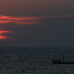 Sunset over Kusadasi