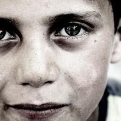 Portrait Gypsy kid