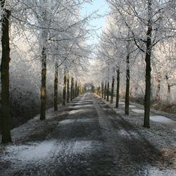 Sneeuwwit straatje