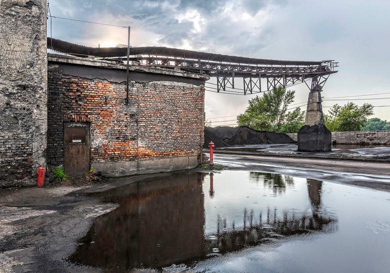 Kolenhuisje - Nog maar eens foto&#039;s plaatsen van het kolenhuisje van de cementfabriek in Hongarije.<br /> Vond het een intrigerende locatie.