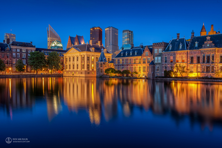 Blue Hour at The Hofvijver