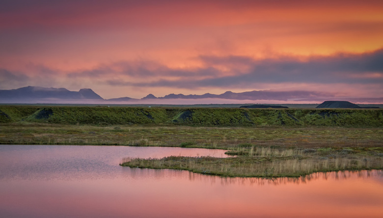 Iceland in Pink