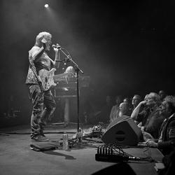 Concertfotografie ProgRock Pendragon in Z/W