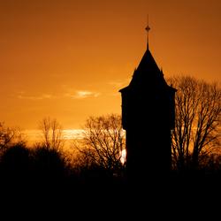 Watertower Sunrise