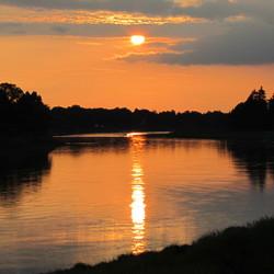 Dresden Elbe oever