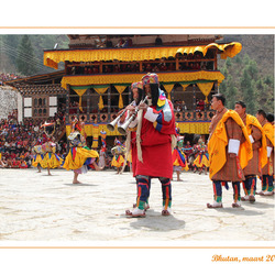 festival in Paro (Bhutan)