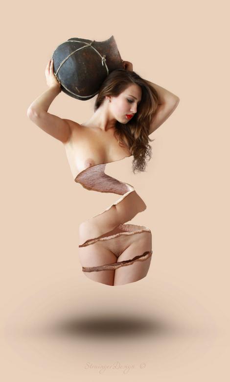 "Peel - Originele Stock foto: <a href=""http://erieye-stock.deviantart.com/art/Woman-and-Vase-Stock-7-268834093?q=favby%3Astrainger-cintiq24hd%2F4775426"