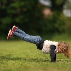 Kleine acrobaat