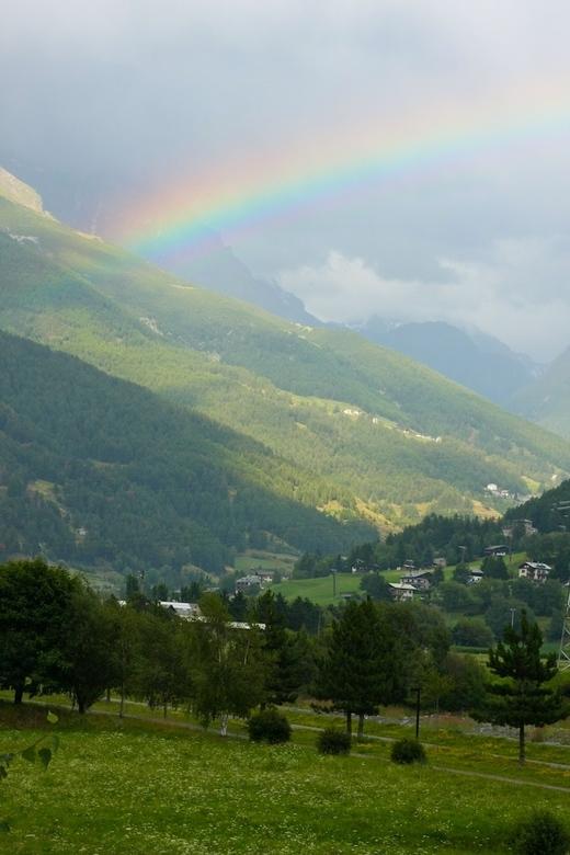 Somewhere over... - Italiaanse alpen
