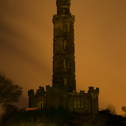The Nelson Monument Edingburgh