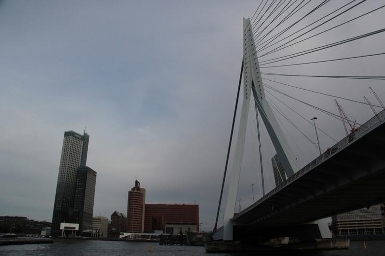 Erasmus #2 - Afgelopen weekend een rondvaart gemaakt o.a. door Rotterdam.