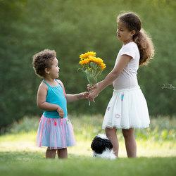 Liefde tussen twee zusjes