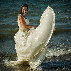 How to trash a dress...