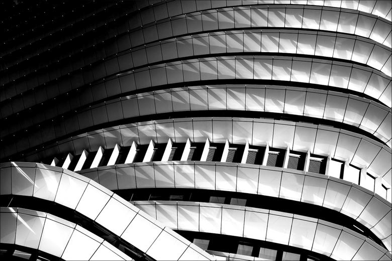 Groningen, DUO: 'Stars and Stripes' - Blijft een van mijn favoriete gebouwen, dit keer een abstracte benadering.