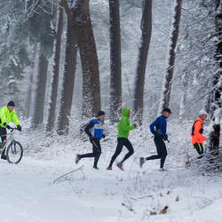 Wintersport: Running