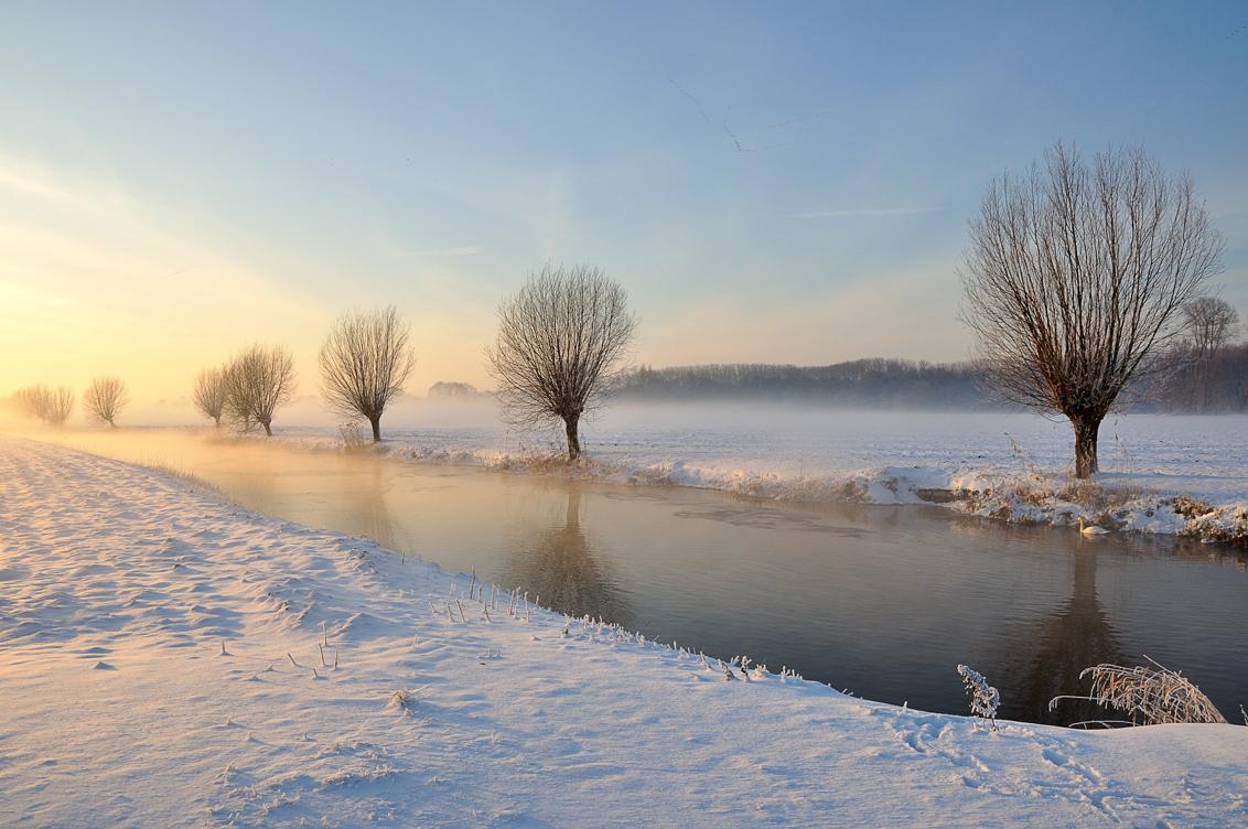 Brabant winterlandschap