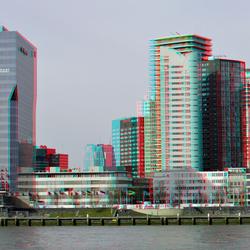 Boompjes Rotterdam 2021 hyper-anaglyph