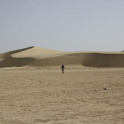 eenzame reiziger