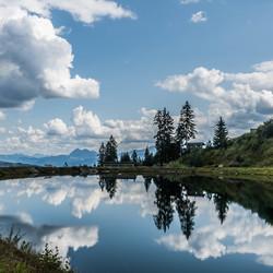 reflectie van Oostenrijk