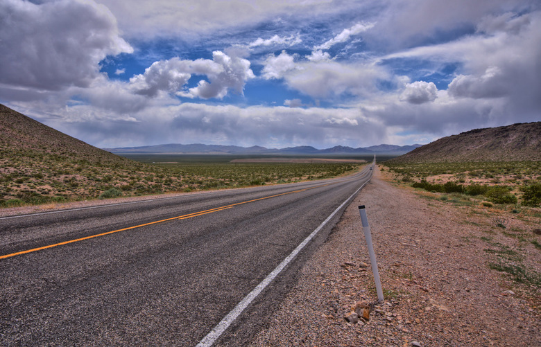 Route 66 - Death valley California