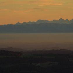 Zicht op de Alpen 2...