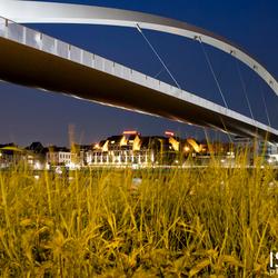 Loopbrug Maastricht By Night