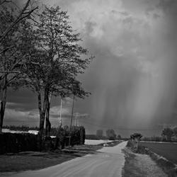 Regen in de verte