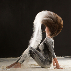 Flour shoot