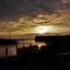 Zonsondergang Zoutkamp