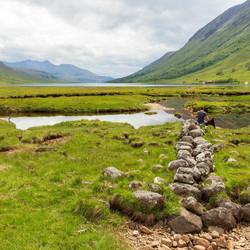 Glen etive Schotland