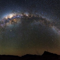 Madagascar Milky way