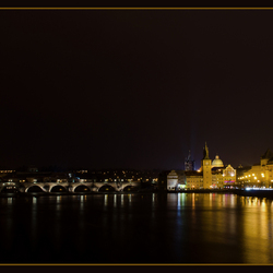 Een winteravond in Praag