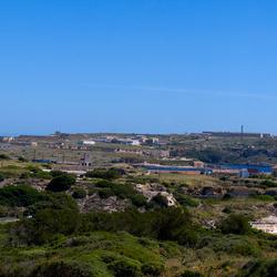 Uitzicht vanaf Fort Malborough