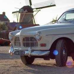 Molen & oude Volvo