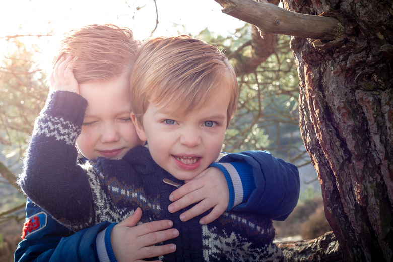 Kinder portret -
