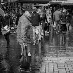 Een regenachtige dag