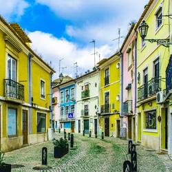 Straatje binnenstad Setubal