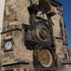 uurwerk van Praag