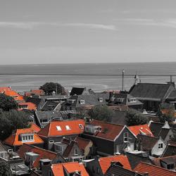 Rode daken in West