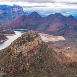 The Three Rondavels on Mpumalanga's Panorama Route