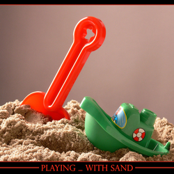 Playing... with sand