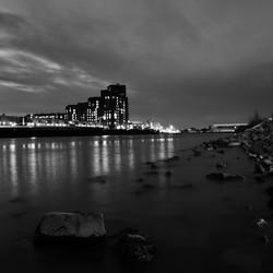 Dordrecht, de avond valt