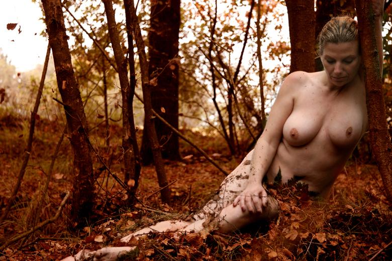 Herfst - Experiment:<br /> Naakte vrouw in een herfstlandschap.<br /> <br /> Model: Erica<br />