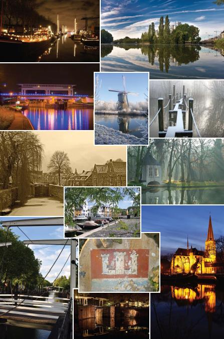 collage nieuwegein - deze collage is een kado voor Burgemeester Cor de Vos die afscheid neemt als burgemeester. de foto links boven heb ik gemaakt.